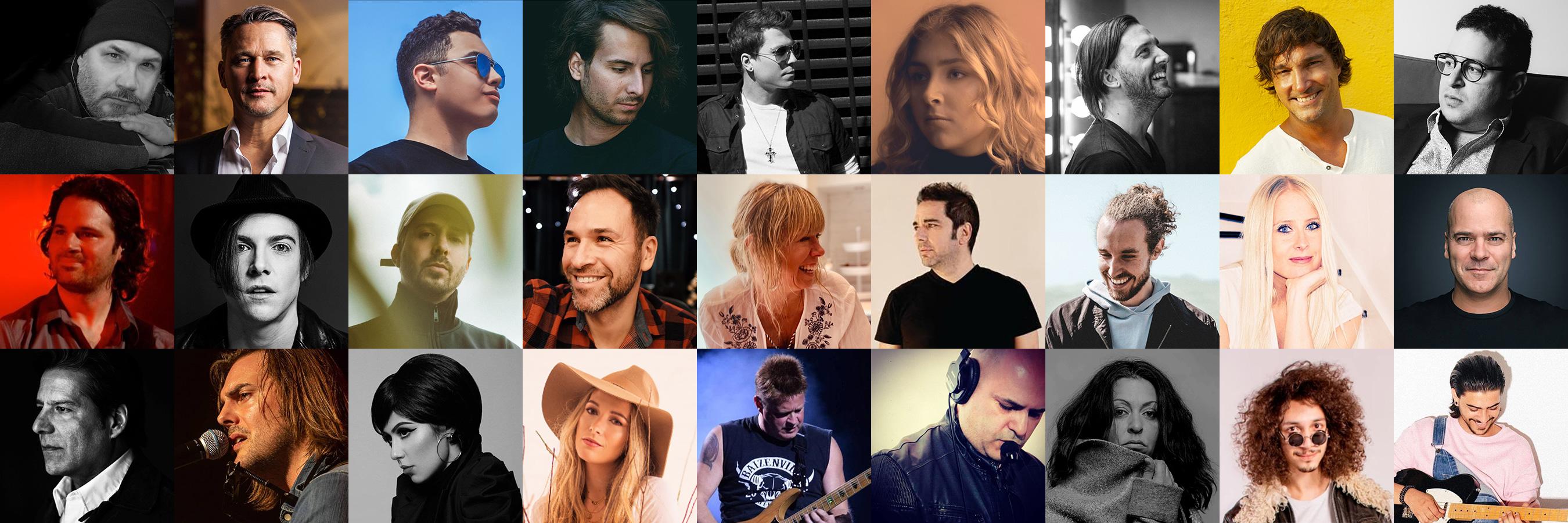 Artistes de Bloc Notes Musique
